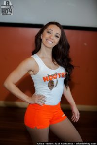 Paola Vargas Chica Hooters 2016 Costa Rica