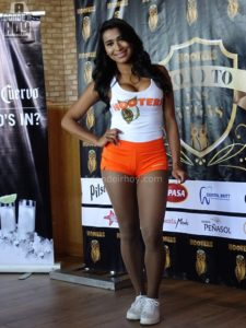 Chica Hooters 2017 Costa Rica
