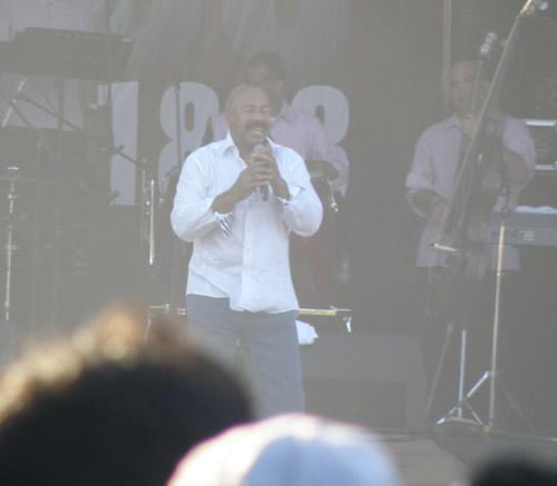 Concierto Pilsen Puntarenas 2011 con Oscar de Leon