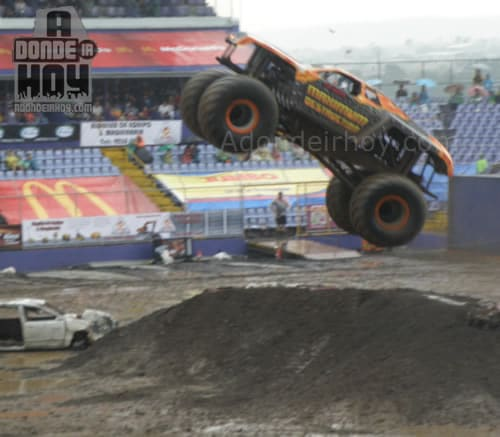Monster Jam en Costa Rica 2011