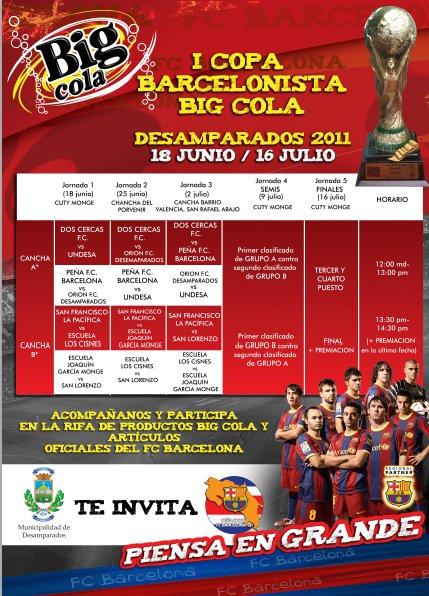 Primera Copa Barcelonista en Costa Rica