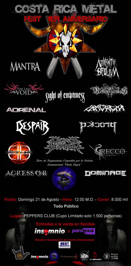 Costa Rica Metal Fest