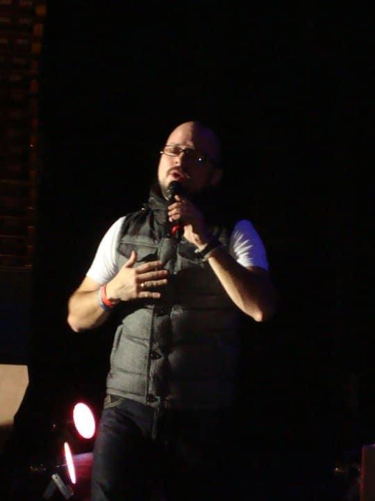 Jose Cañas abre concierto de Tercer Cielo en Costa Rica