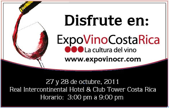 Expovino Costa Rica 2011 - Vino y Cultura