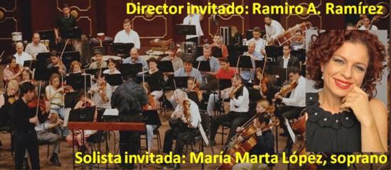 Conciertos Navideños - Maria Marta Lopez y la Sinfonica