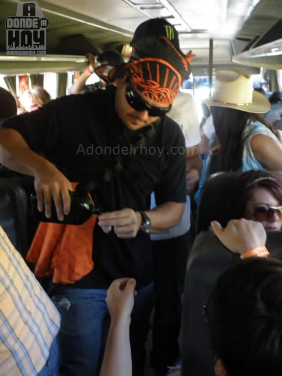 Jager Bomb Bus – bus oficial de Adondeirhoy.com