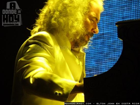 Elton John en Costa Rica - Adondeirhoy.com