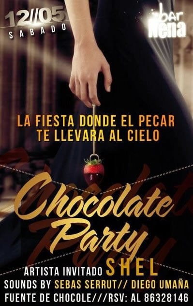 Chocolate Party en la Nena - Para los Golosos