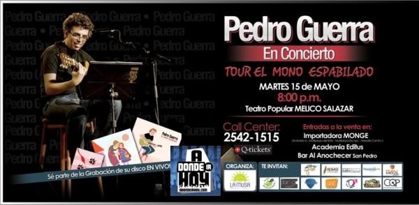 Pedro Guerra en Costa Rica - Adondeirhoy.com