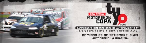 Sexta Fecha del MotorShow 2012 Copa Tuyo Movil