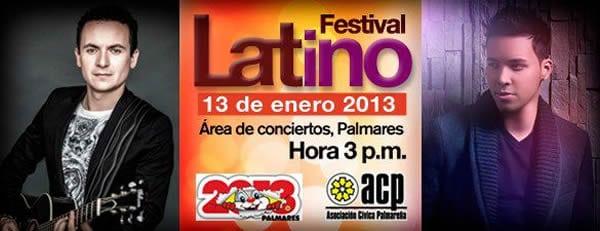 Festival Latino Fiestas Palmares 2013