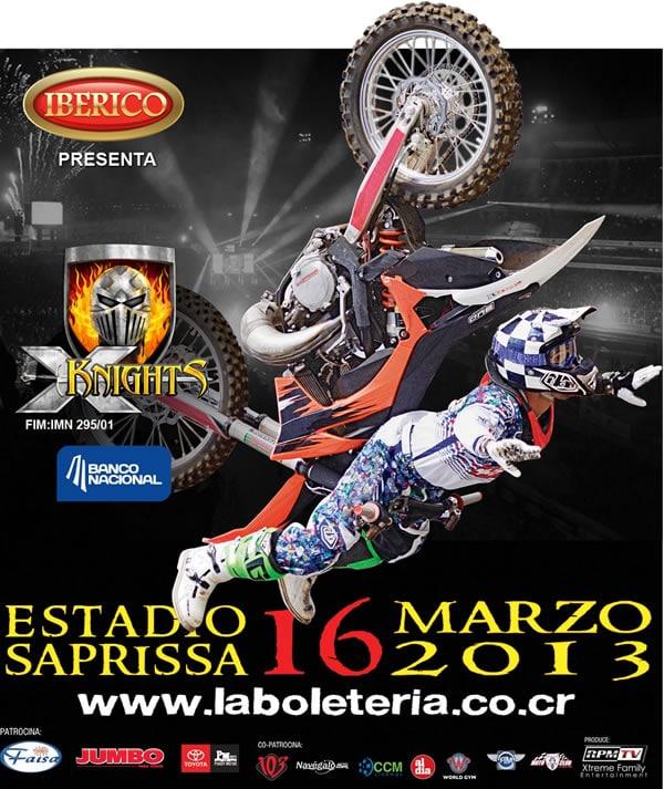 X Knights 2013 vuelve a Costa Rica