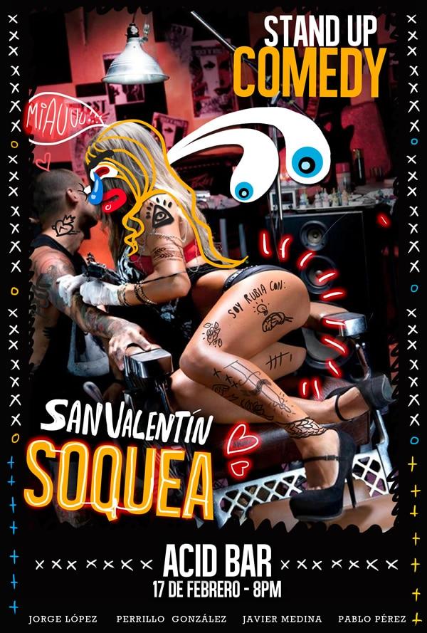 Stand Up Comedy Costa Rica - San Valentin Soquea
