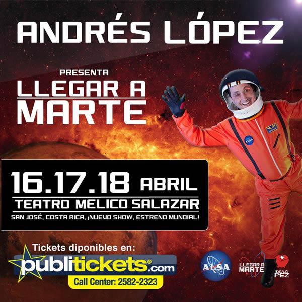 Andres Lopez Llegar a Marte