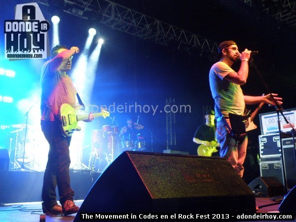 Movement in Codes en el Rock Fest 2013
