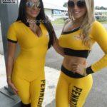 Cuarta Fecha MotorShow 2013 - Karina Arroyo y Maybeth Madrigal