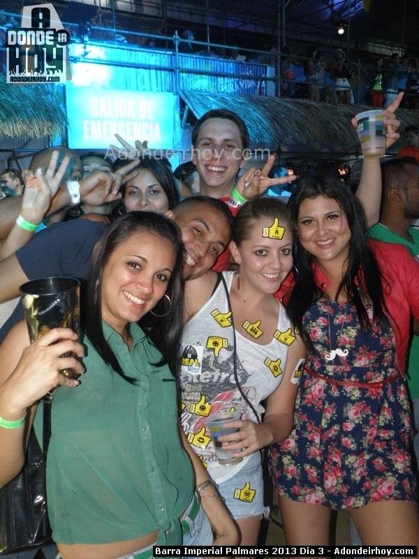 La Barra Imperial se mueve en Palmares 2014