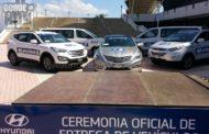 Hyundai Costa Rica entrega 50 autos a FIFA