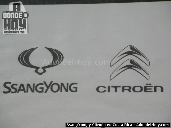SsangYong y Citroën en Costa Rica - Veinsa