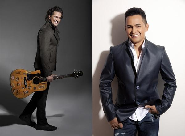 Carlos Vives y Jorge Celedon en el Bac Special