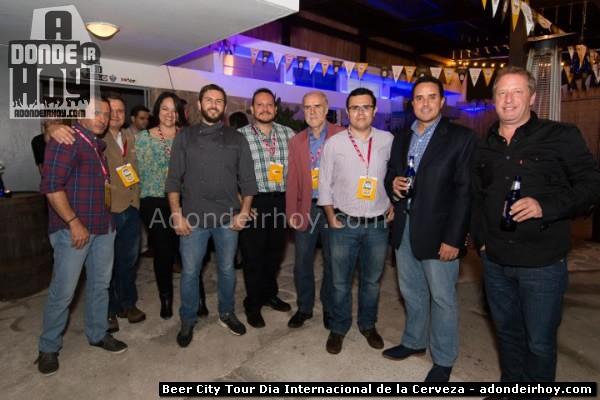 Beer City Tour celebrando el Dia Internacional de la Cerveza