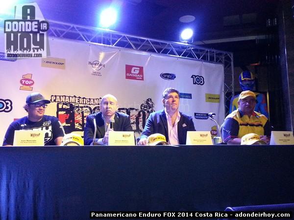 Panamericano Enduro FOX 2014