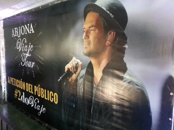 Ricardo Arjona segundo concierto para el 2015