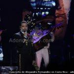 Concierto de Alejandro Fernandez en Costa Rica 2014