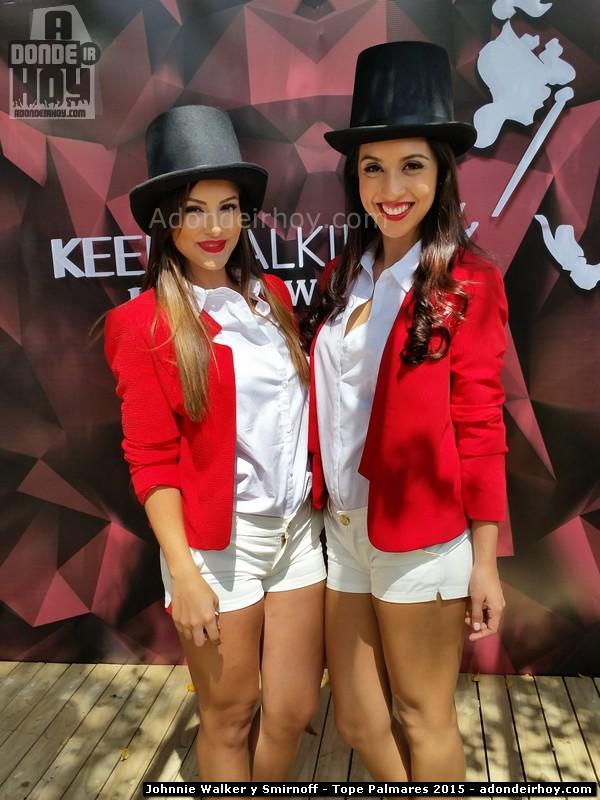 Johnnie Walker y Smirnoff presentes en el Tope de Palmares 2015