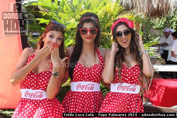 Toldo Coca Cola y los 100 veranos en Tope de Palmares 2015
