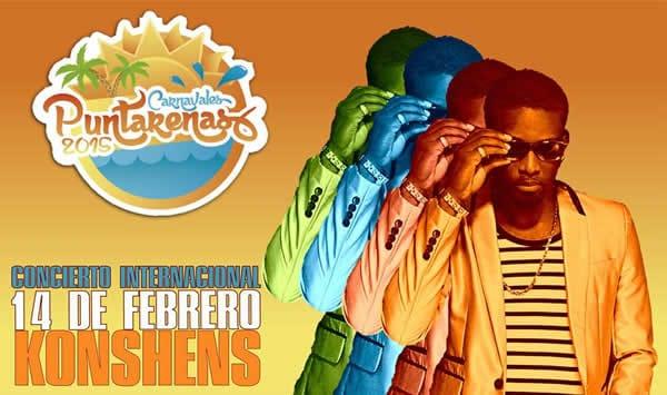 Calendario Carnavales de Puntarenas 2015