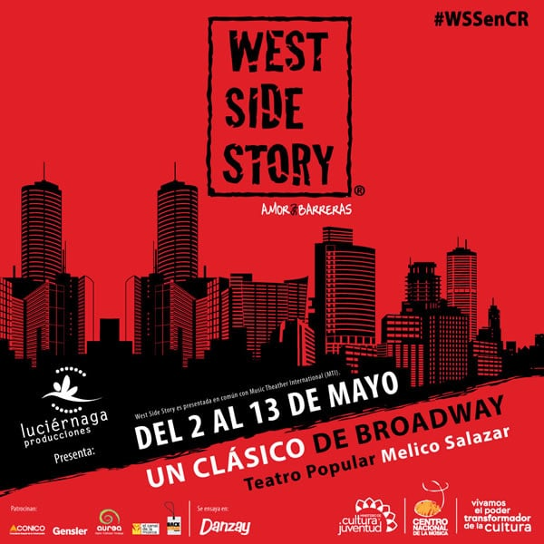 West Side Story se presentara en Costa Rica
