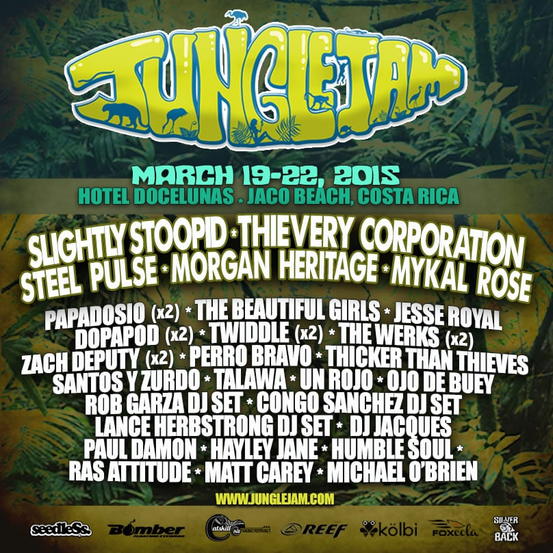 Jungle Jam V 2015 Costa Rica