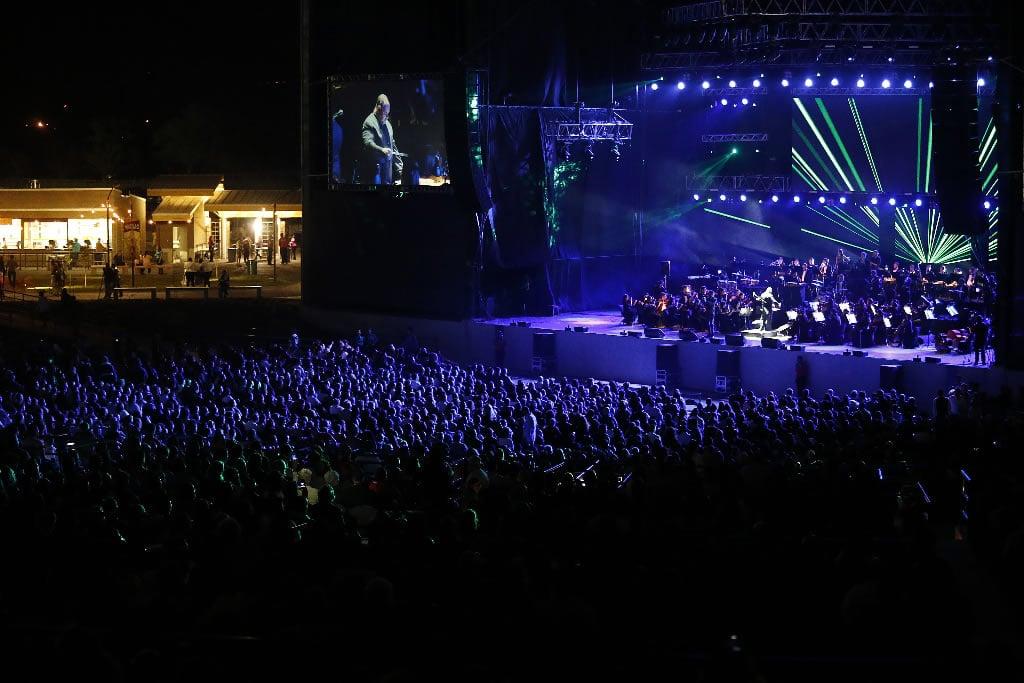 Inauguracion Parque Viva con la Filarmonica
