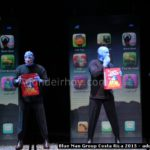 Blue Man Group cautiva a Costa Rica