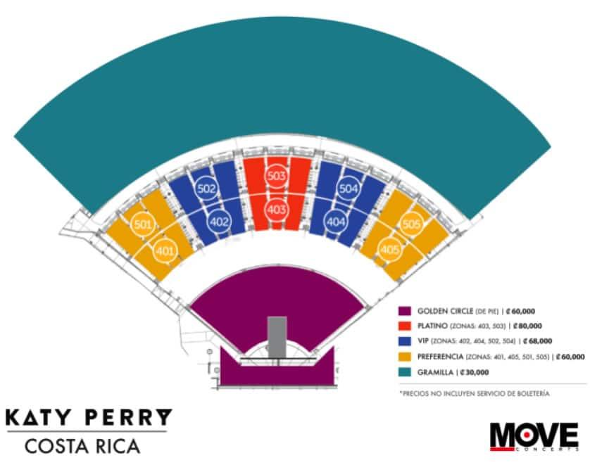 Venta de entradas para Katy Perry