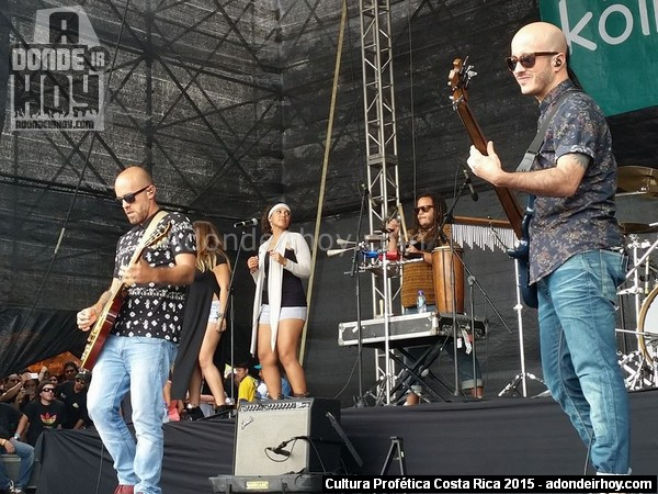 Cultura Profética con dos conciertos en Playas del Coco y Dominical