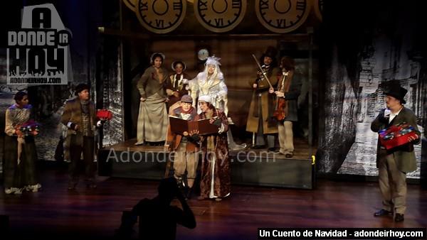 Un Cuento de Navidad en Teatro Espressivo