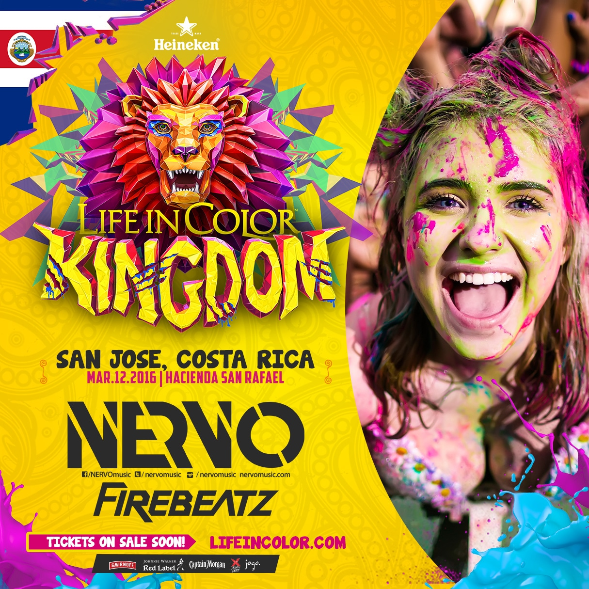 Life in Color 2016 Costa Rica trae Kingdom