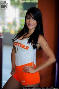 Sirleny Castillo Chica Hooters 2016 Costa Rica