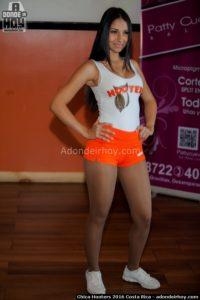 Keilyn Fallas Chica Hooters 2016 Costa Rica