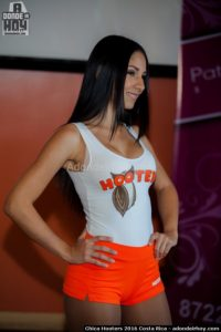 Keilyn Fallas Chica Hooters 2016 Costa Rica
