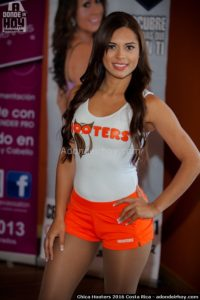 Marisa Calavera Chica Hooters 2016 Costa Rica