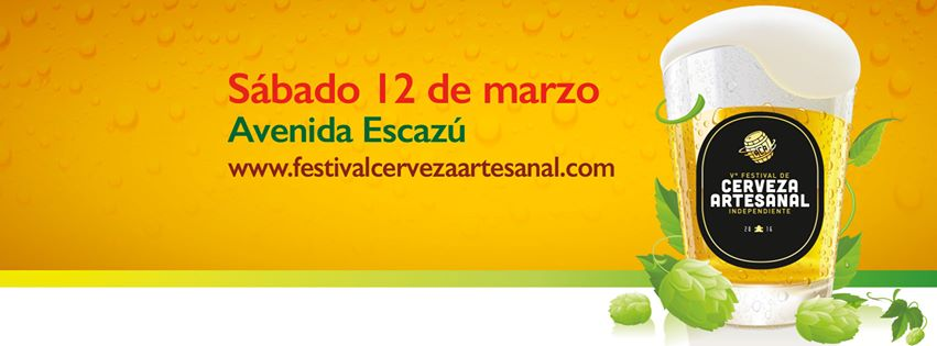 Festival de la Cerveza Artesanal 2016 vuelve con edición V