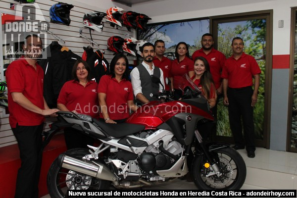 Motocicletas Honda cambia de casa en Heredia