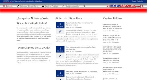 Nace nuevo portal de noticias en Costa Rica