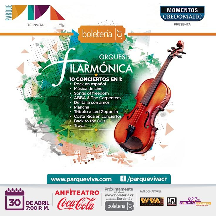 Gran Concierto con lo Mejor de la Filarmónica 2016