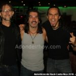Bernal Villegas, Pato Barraza, Luis Arenas Autenticos del Rock