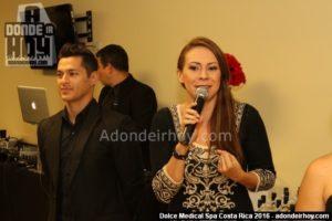 Glenda Medina - Inauguración Dolce Medical Spa