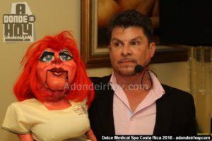"""Miguel """"Coco"""" Mora y Doña Yaya - Inauguración Dolce Medical Spa"""